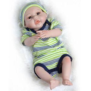 POUPÉE  Réaliste Bébé Poupée 55cm Nouveau-Né Poupée Enfan