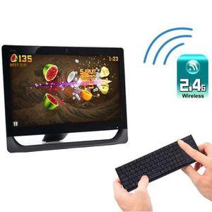 CLAVIER D'ORDINATEUR KP-810-25BTT Mini Bluetooth Clavier Souris Touchpa