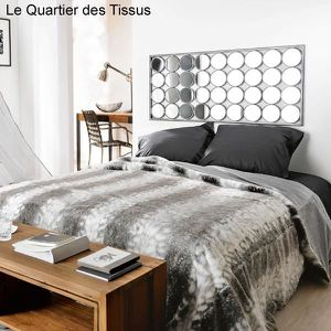 dessus de lit 2 personnes achat vente pas cher. Black Bedroom Furniture Sets. Home Design Ideas