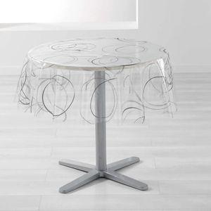 d/écorline nappe cristal ronde 140cm 14//100e cosmik