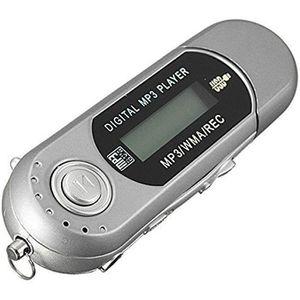 LECTEUR MP3 8G Cle USB Lecteur Baladeur MP3 Player FM argent