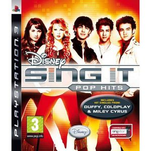 JEU PS3 Disney Sing It: Pop Hits PS3 [import anglais]