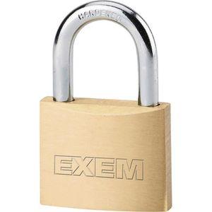 manille de 1 pouce cadenas en acier chrom/é /à cl/é cadenas largeur de 1,5 pouce