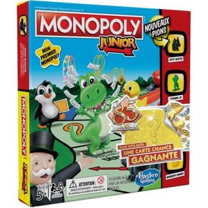 JEU SOCIÉTÉ - PLATEAU Monopoly Junior - Jeu de societe pour enfants - Je