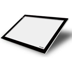 TABLE A DESSIN Huion LED Light Pad Tablette Lumineuse Réglable A4