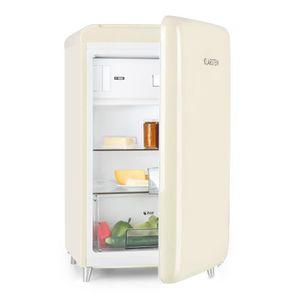 RÉFRIGÉRATEUR CLASSIQUE Klarstein PopArt Cream Combiné réfrigérateur Congé