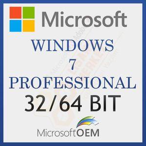 SYSTÈME D'EXPLOITATION Microsoft Windows 7 Pro 64/32 Bit | Avec Facture |