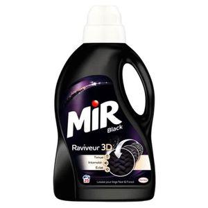LESSIVE Mir Black Liquide Raviveur 3D 50 Lavages 3L (lot d