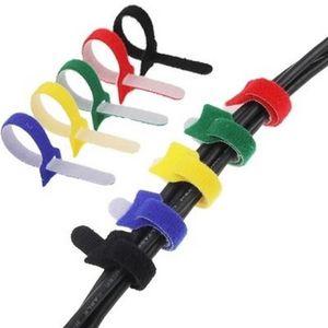 Velcro serre-câbles 10 mm de largeur serre-câbles velcro velcro Binder double face