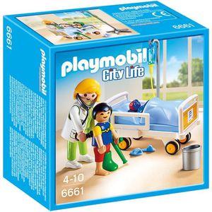 UNIVERS MINIATURE PLAYMOBIL 6661 - City Life -Chambre d'Enfant avec