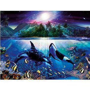 PUZZLE Puzzle 2000 pièces - Orques harmonieux
