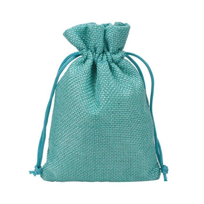 Sacs de rangement de grains de café 10 pièces-lot, pochettes cadeaux pour plantes, sac de bijoux en Jute, pochette de [B1A04CB]