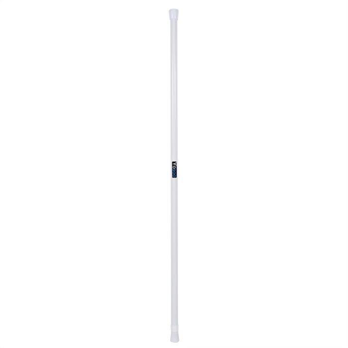 Tige de rideau réglable télescopique à ressort pour tringle à rideau pôle de douche 85-150-OHL