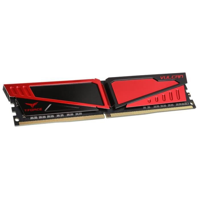 Team Group T Force Vulcan Series rouge, Ddr4 2400, Cl15 16 Gb 0,000000