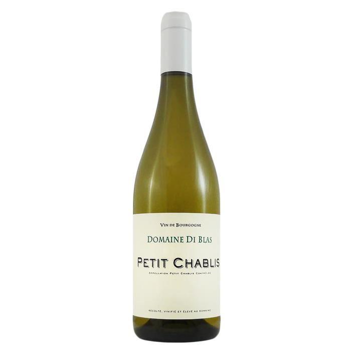 Petit Chablis 2019 Domaine Diblas -75 cl - Vin Blanc AOP de Bourgogne - Cépage Chardonnay