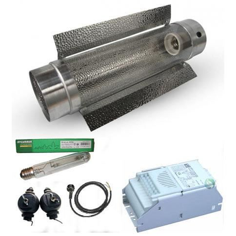 Kit Cooltube 125mm HPS-MH 400W Osram HPS 400W Plantastar