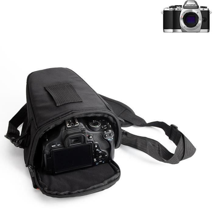 Pour Olympus OM-D E-M10: Sac pour appareil photo reflex Sacoche Gadget anti-choc DSLR SLR pour caméra protection complète boîte de