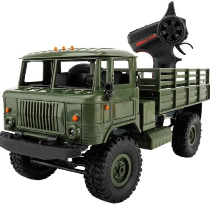 Vehicule A Construire - Engin Terrestre A Construire - WPL B-24 Full Body 1:16 Mini 2.4GHz 4WD RC camion militaire voiture jouet de