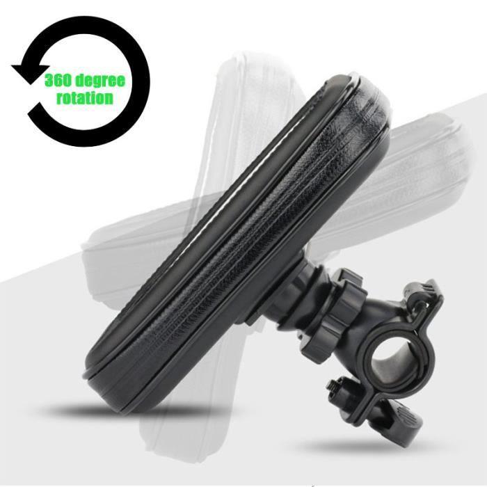 Sac de Support Mobile de vélo de Support de téléphone de moto imperméable pour Samsung Note 10 Plus S9 S8 Support de Su - S - WL2454