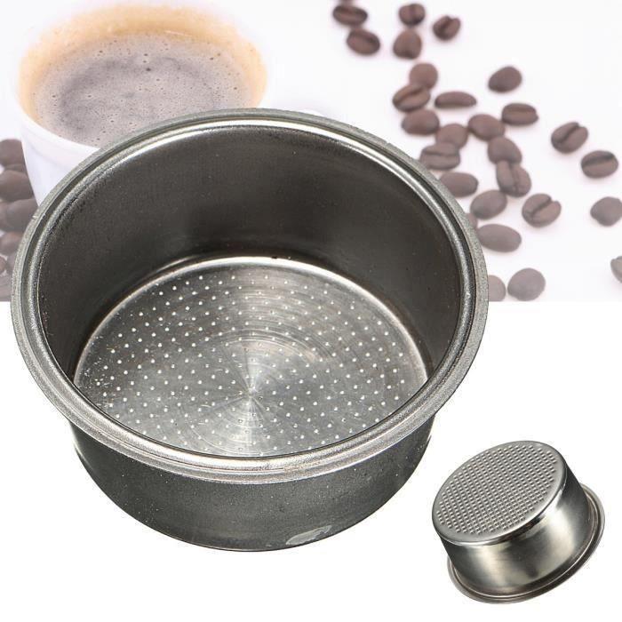 Café Machine 2 Tasse Tamis 51mm Filtre Pr Breville Delonghi Expresso Percolateur L15051