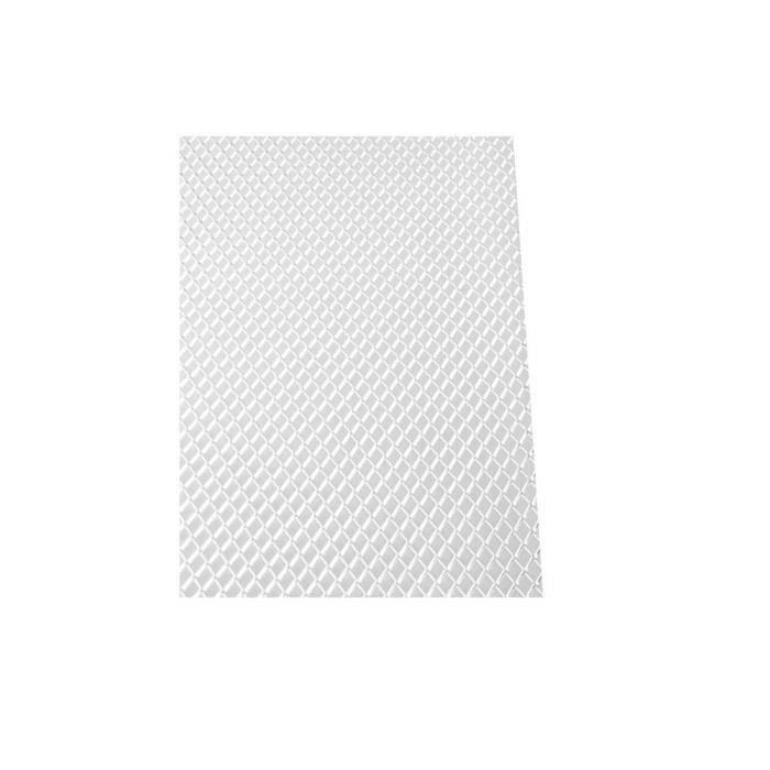 fr Grille de Pare-Chocs Avant Universelle en Aluminium pour Voiture, Filet Losange, Noir-Argent (40 x13-100 × 33cm) LIKK5932