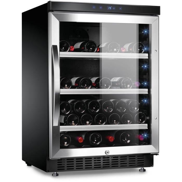 DOMETIC D52 - Cave à vin de service - Encastrable - 52 bouteilles - A - L 59,5 x H 92.5 cm