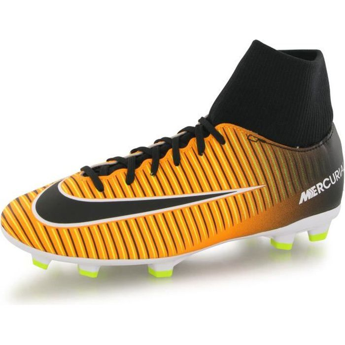 Nike Mercurial Victory Vi Df Fg orange, chaussures de football enfant