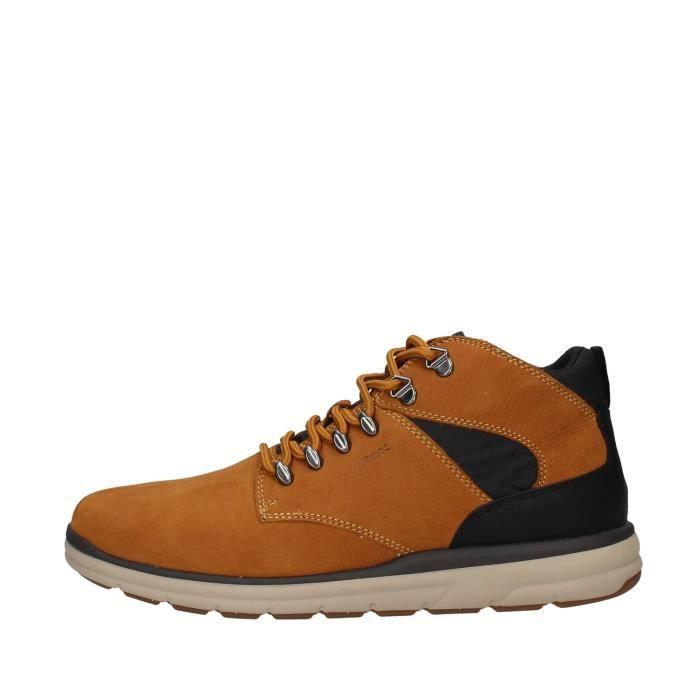 Geox U945UA000LT chaussures de tennis faible homme JAUNE