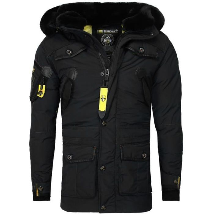 Parka homme Geographical Norway Parka Acrobate noir S
