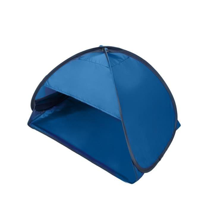 Polyester Beach Soleil Shelter Extérieur Tente ouverte Sun Protection contre le froid pour la plage