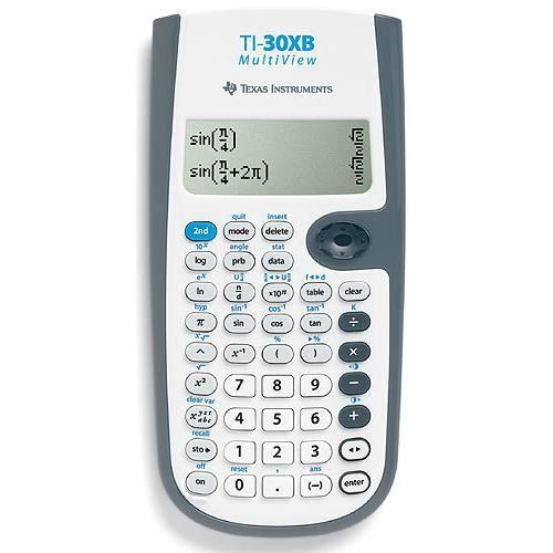 Texas Instruments TI-30XB. Elément de format: Poche, Type: Calculatrice scientifique.