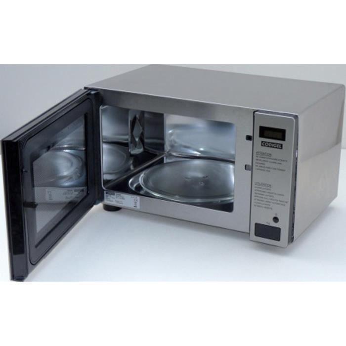 Four à micro-ondes Cafeteria à plateau tournant 1000W - L540 x P400 x H315 mm