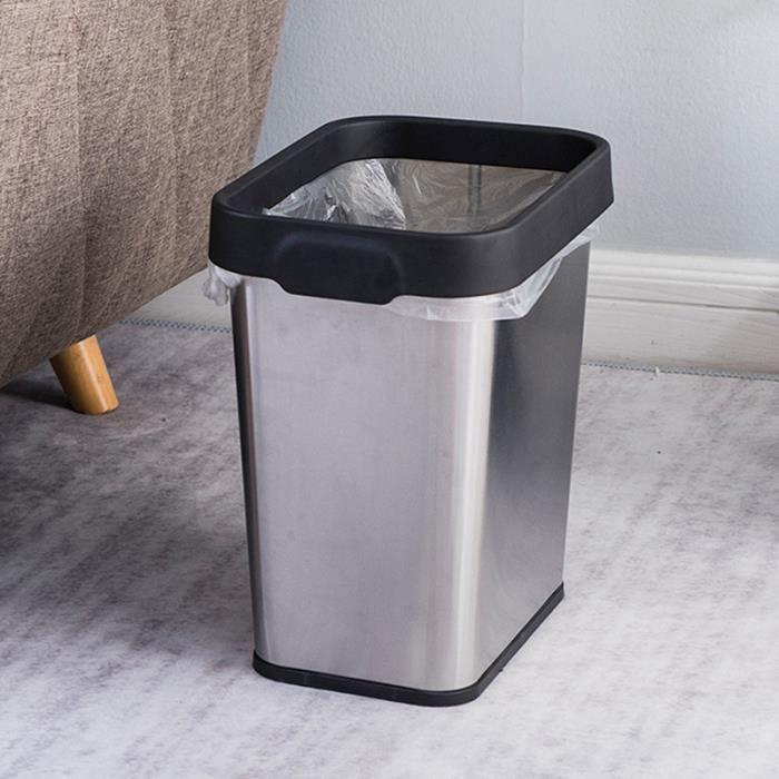 2pcs 8l noir poubelle gallon sac poubelle cachée nouveauté élégant