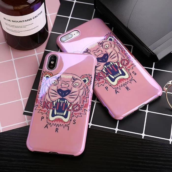 kenzo coque iphone 8 plus 8s plus rose