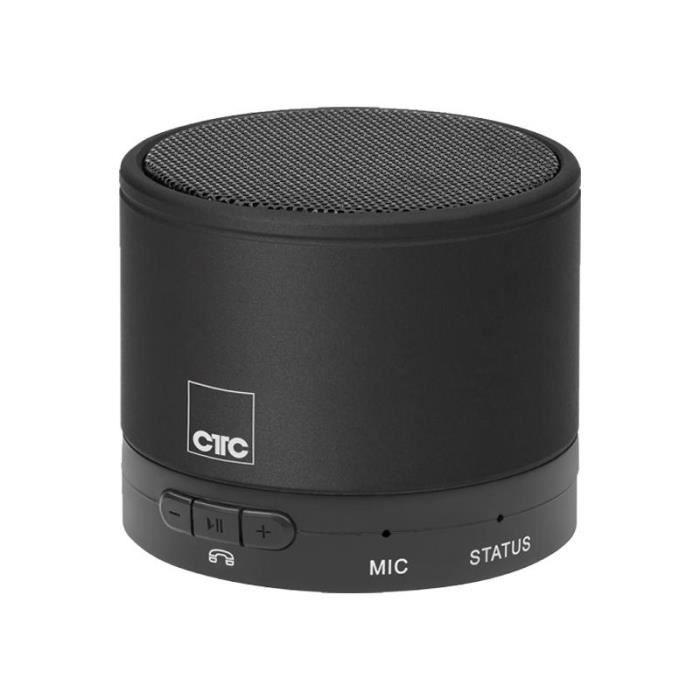 ENCEINTE NOMADE Haut-parleur Bluetooth CTC BSS 7006 - Argenté