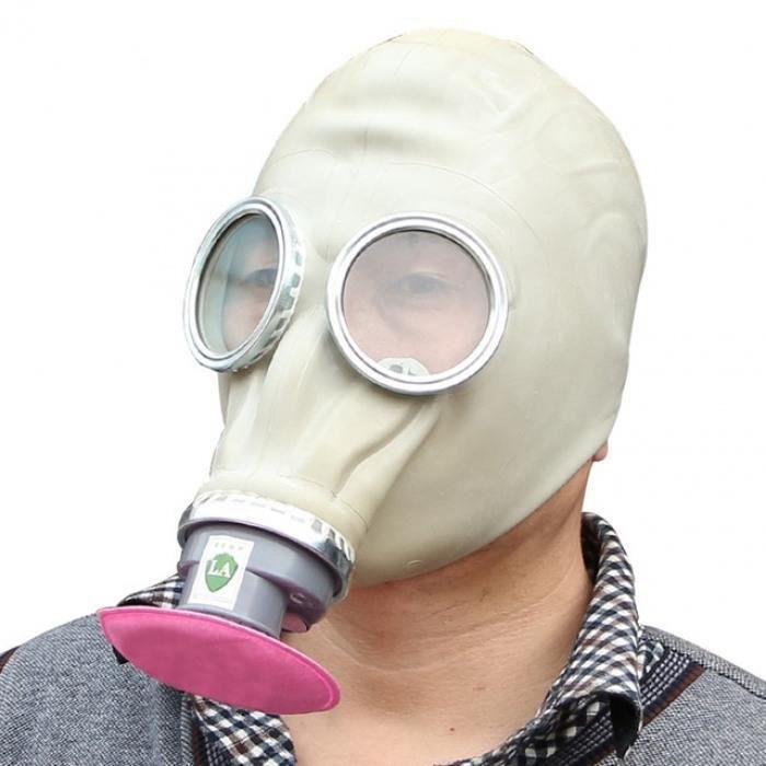Runrain Masque de Respiration int/égral pour Masque /à gaz Airsoft CS pour la Transpiration et la poussi/ère