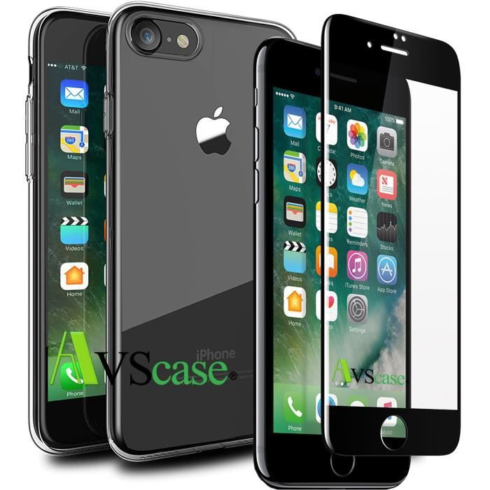 coque verre tremper iphone 7