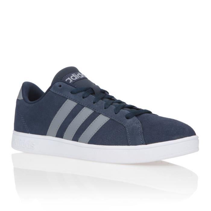 ADIDAS NEO Baskets Baseline Chaussures Homme Marine et gris ...
