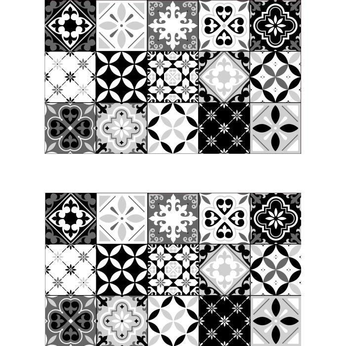 SET DE TABLE Lot de 2 sets de table Ceramic - 100% Vinyle - 35