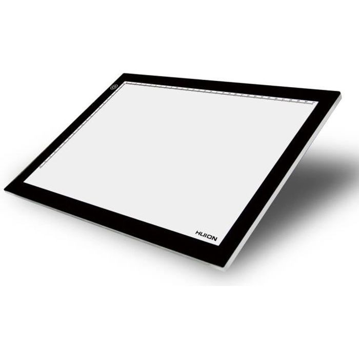 huion led light pad tablette lumineuse r glable a4 avec des panneaux acryliques achat vente. Black Bedroom Furniture Sets. Home Design Ideas