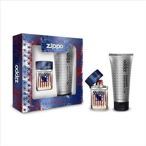 COFFRET CADEAU PARFUM ZIPPO Glorious Coffret Eau de toilette 40 ml + Gel