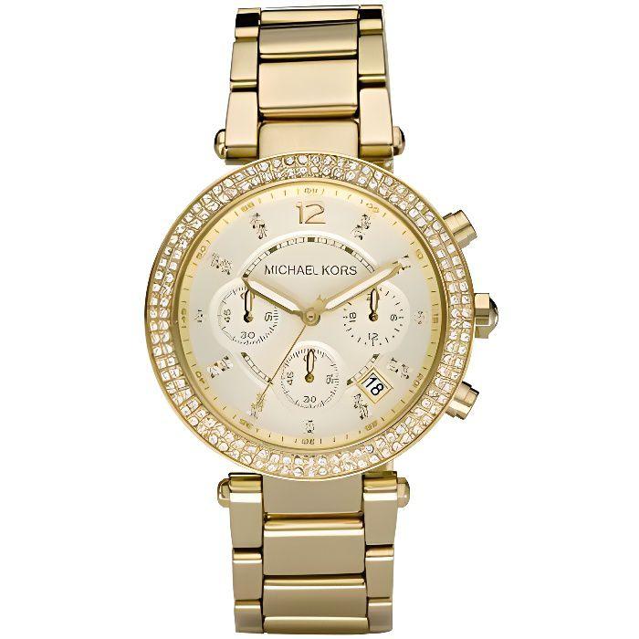 MONTRE MICHAEL KORS Montre bracelet Femme MK5354 - Chrono