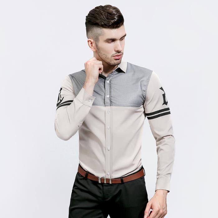Chemise sur mesure pour homme Marque Luxe