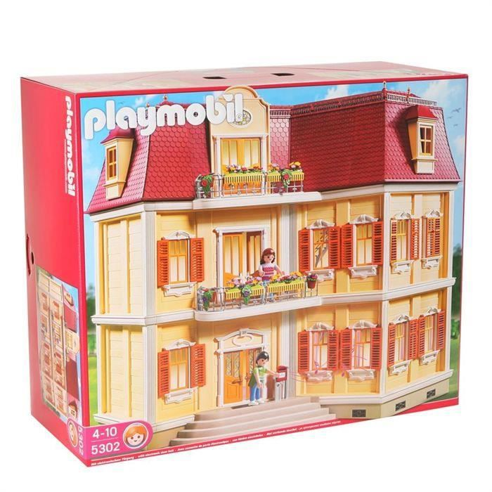 destockage playmobil 5302 maison de ville univers