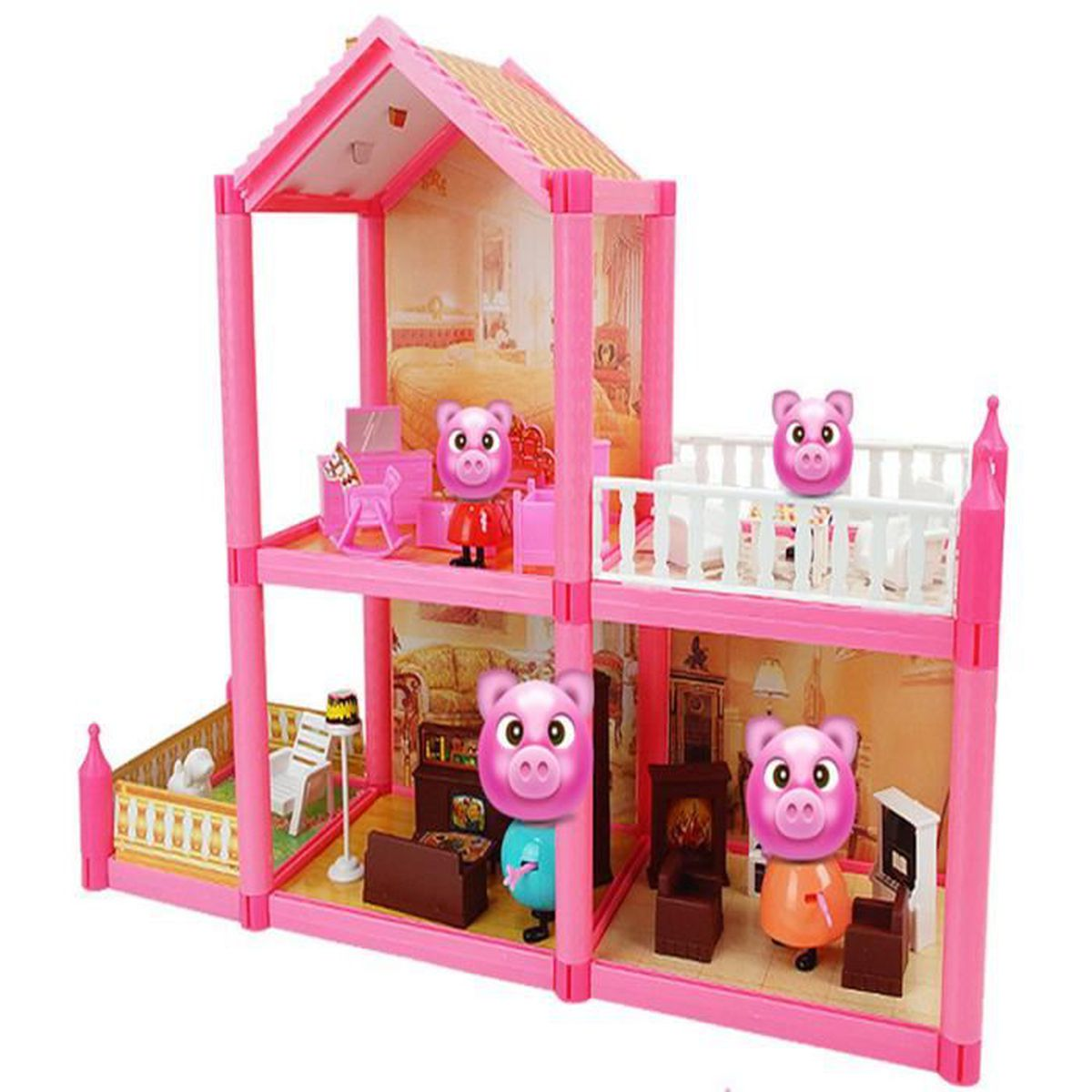 peppa pig princesse suite maison b collection achat vente maison m nage cdiscount. Black Bedroom Furniture Sets. Home Design Ideas