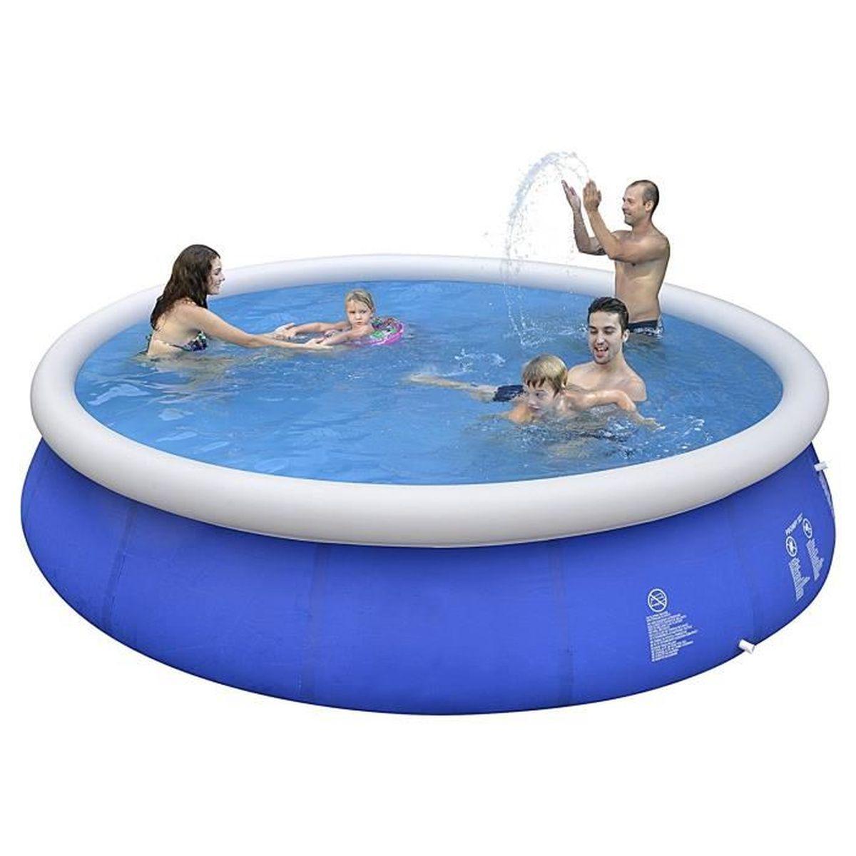 Filtre Piscine Lave Vaisselle piscine marin blue kit avec pompe à filtre, échelle, bâche