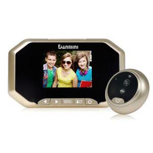 JUDAS - ŒIL DE PORTE 3pouces caméra de judas de porte de HD TFT 160 deg