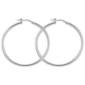 Boucle d'oreille Boucles d'oreilles créoles argent 925/1000e (40…