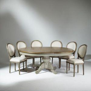 TABLE À MANGER SEULE Table extensible, 8 à 10 couverts , patine shabby