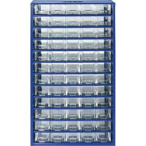 BOITE A COMPARTIMENT Armoire d'atelier 60 tiroirs bleu 305 x 550 x 1…